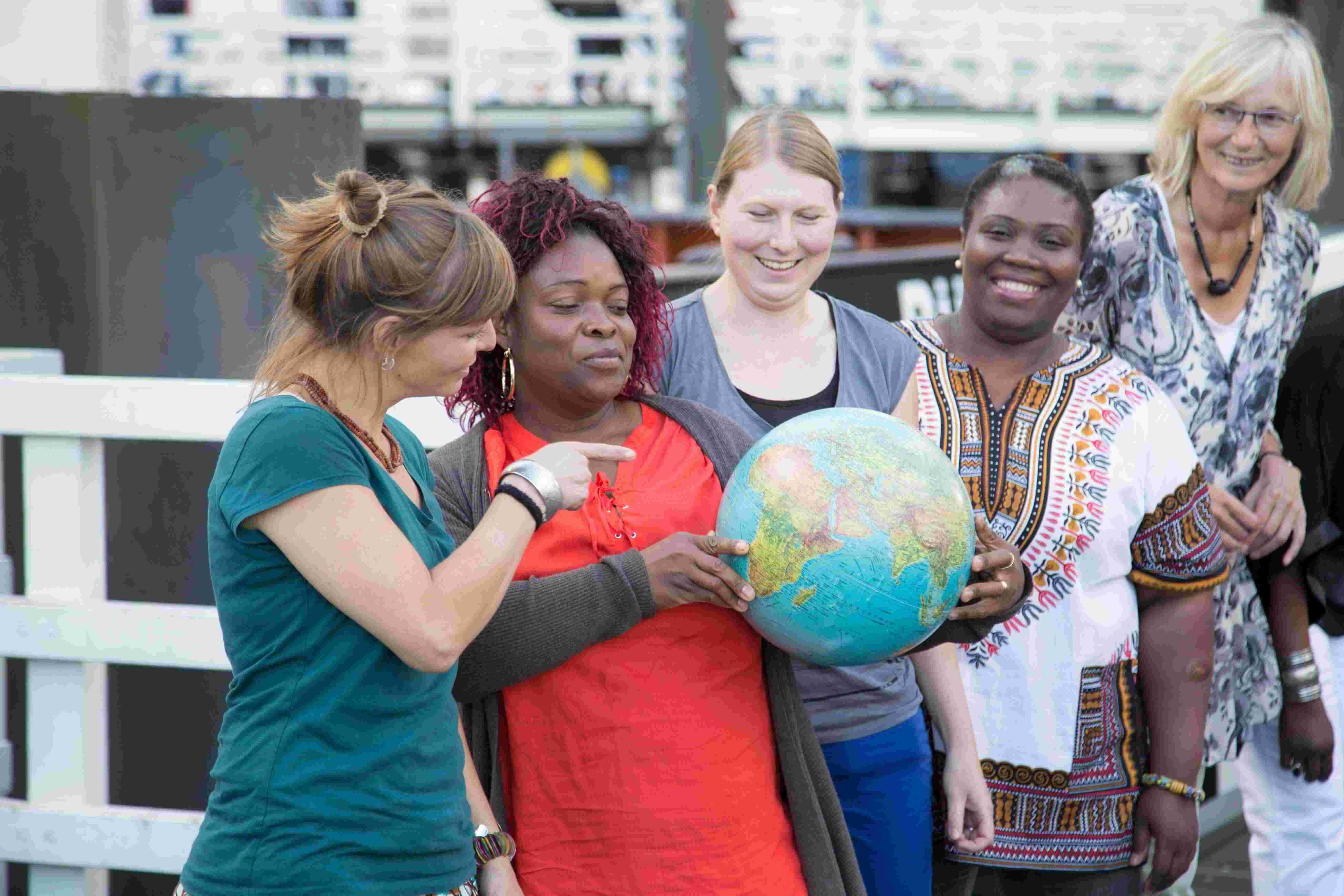 Sisters-Frauen für Afrika beteiligen sich an den